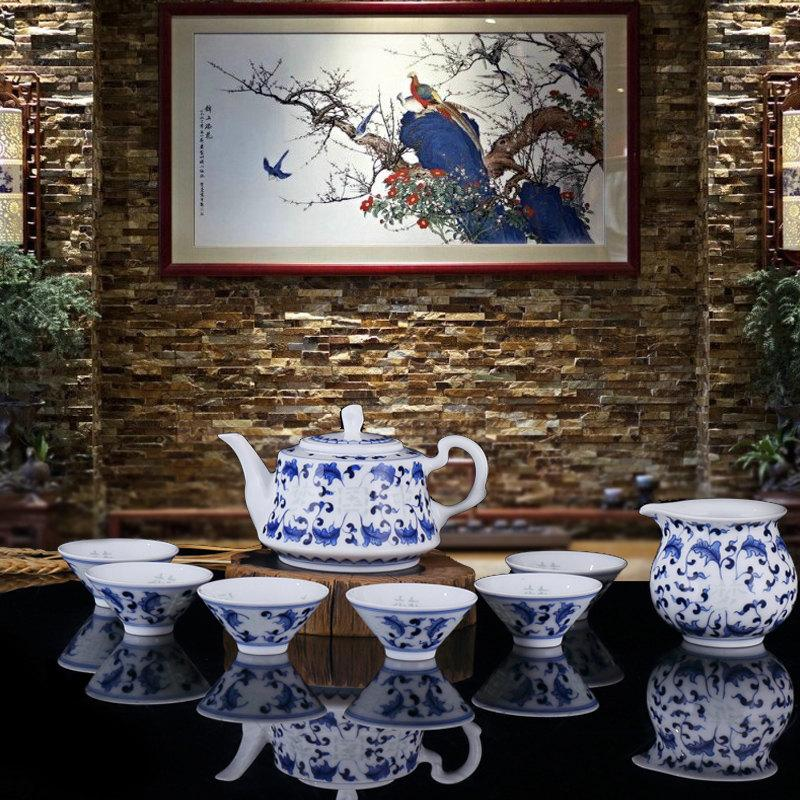 China Tea Set Service Chinese Tea Set For Oolong Tea Top Fashion Tea Set