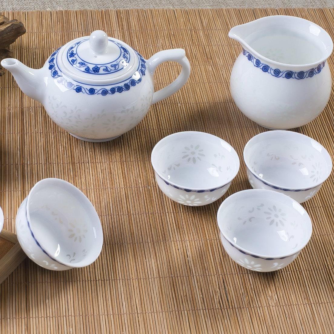 Handmade ceramic tea sets