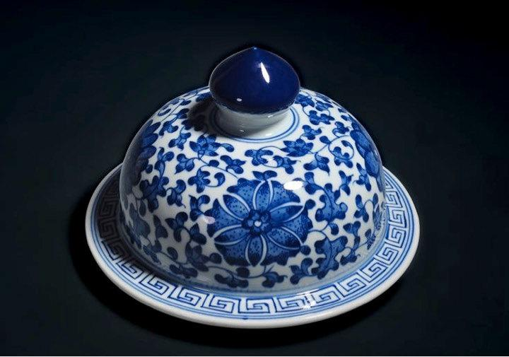 Blue And White Porcelain Vasechinese Gongfu Tea Setchinese Tea Ceremony Style Ceramic Teaware