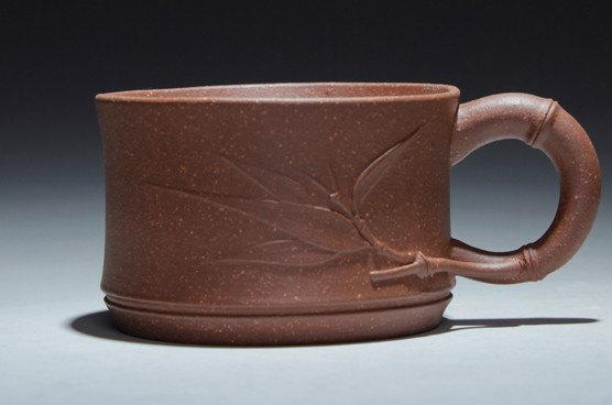 4 Hand-Made Zisha Clay Tea Cup;Guaranteed 100%Genuine Original Mineral Fired