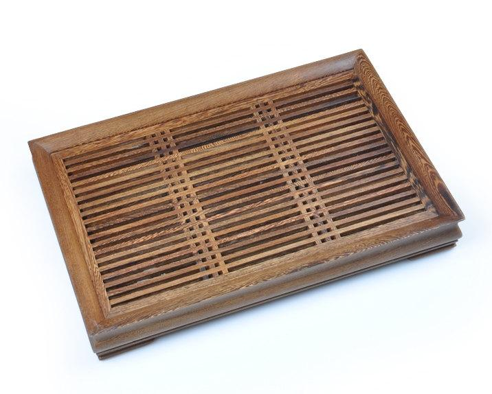 Wenge Wood Tea Tray Displaying And Serveing Tea Tea Tray Handicraft Chinese Kung-Fu Tea Setchinese Teaism Practice.