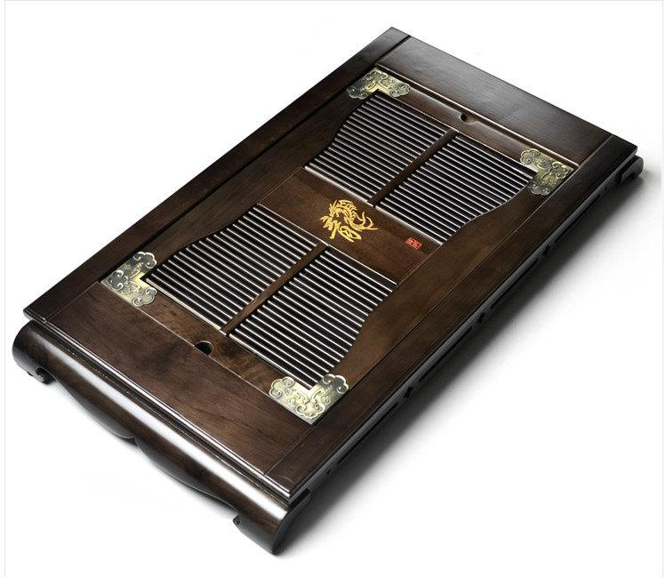 Castanopsis Cuspidate Wood Tea Tray Displaying And Serveing Tea Tea Tray Handicraft Chinese Kung-Fu Tea Setchinese Teaism Practice.