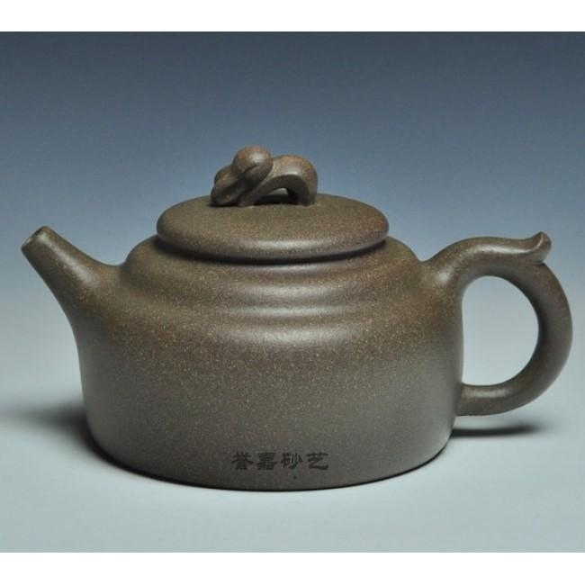 Yixing Teapot Qing Hu Ni Clay Rabit On Moon 260ml