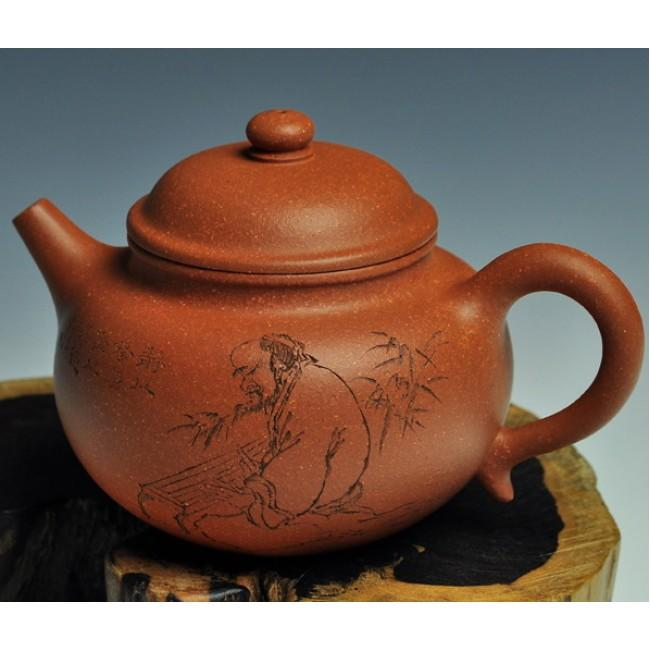 Yixing Teapot Jiang Po Ni Clay Duo Zhi 220ml