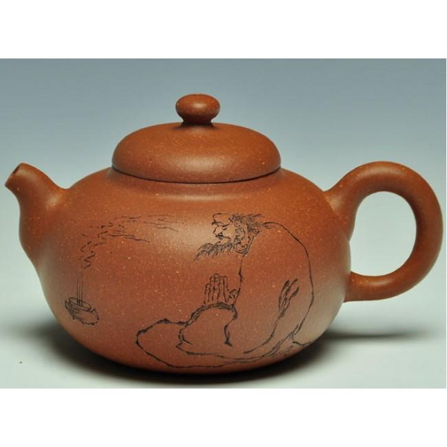 Yixing Teapot Jiang Po Ni Clay Chgd 220ml
