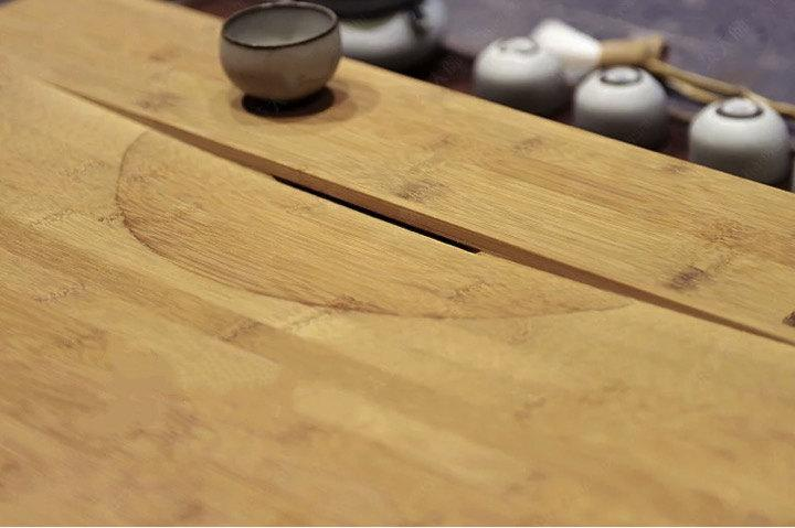 Weight Bamboo Tea Tray Displaying And Serveing Tea Tea Tray Handicraft Chinese Kung-Fu Tea Setchinese Teaism Practice.
