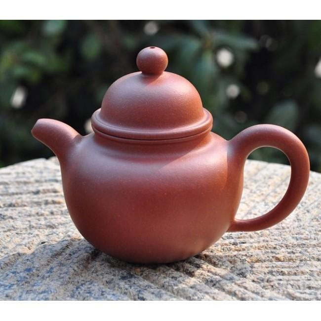 Yixing Teapot Di Cao Qing Clay Duo Qiu(Drop Ball)240ml