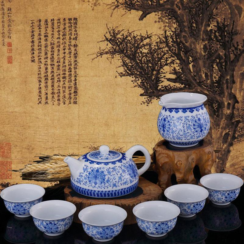Collectible Ceramic Teapot Set Tea Set Cup Teapot Chinese Tea Set Porcelain