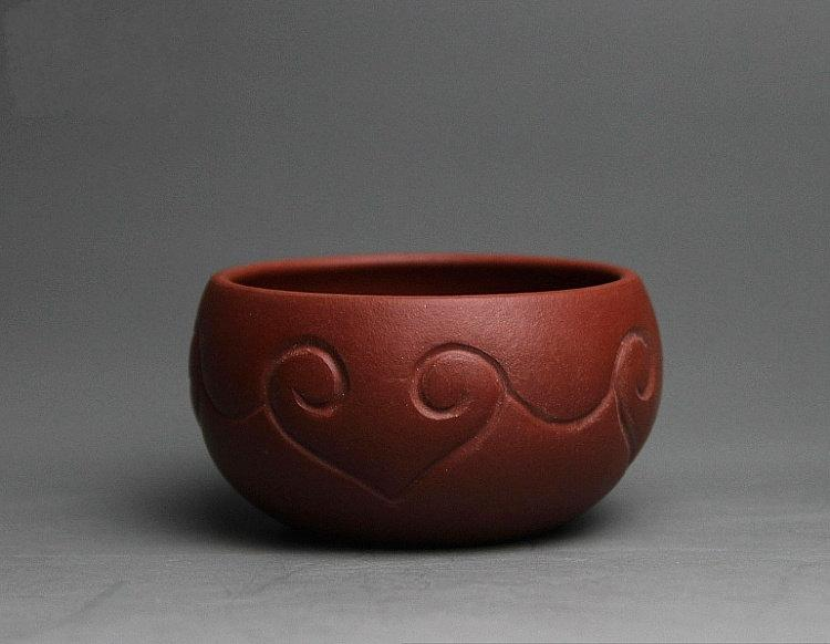 8 Hand-Made Zisha Clay Tea Cup Yixing Pottery Handmade Zisha Clay Teapotguaranteed 100%Genuine Original Mineral Fired