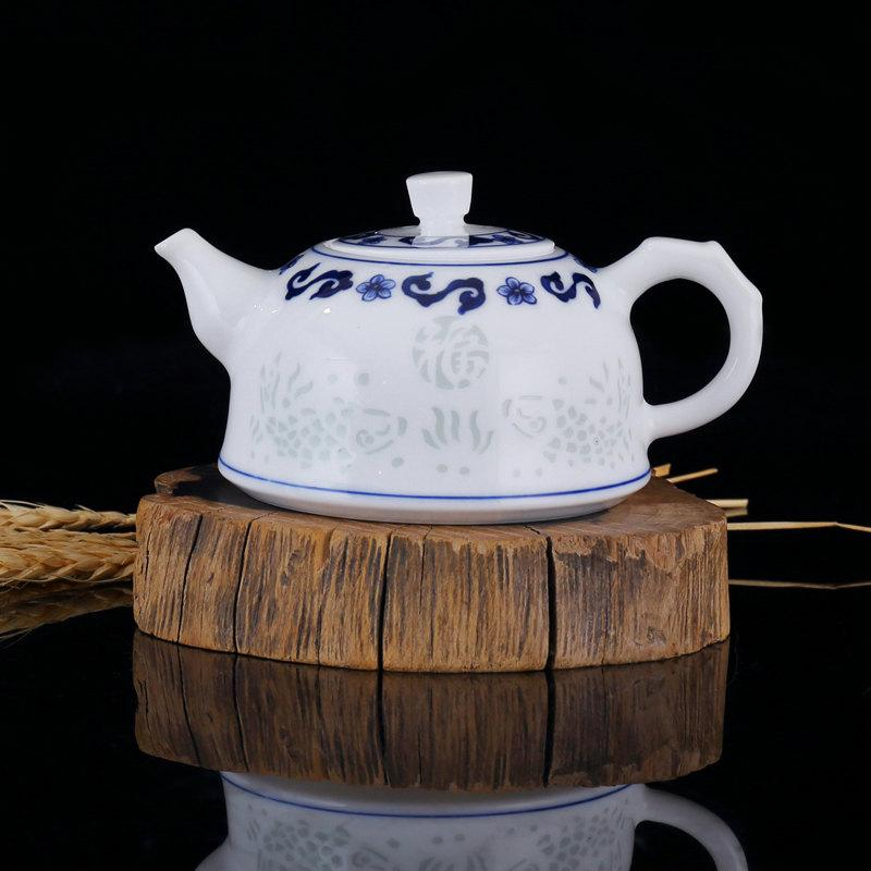 Porcelain Tea Pot Set China Set For Tea Ceremony Handmade Tea Set Cups Teapot