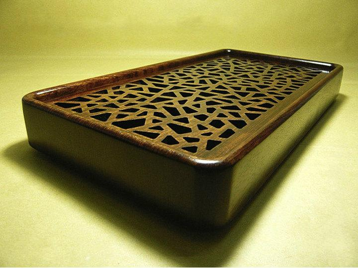 Brazilian Rosewood Tea Tray Displaying And Serveing Tea Tea Tray Handicraft Chinese Kung-Fu Tea Setchinese Teaism Practice.