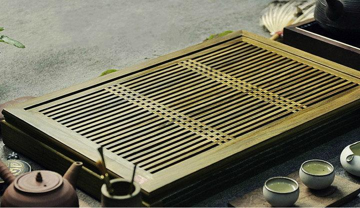Verawood Tea Tray Displaying And Serveing Tea Tea Tray Handicraft Chinese Congou Tea Setchinese Teaism Practice.