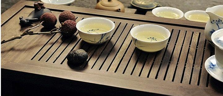 Big Ebony Wood Tea Tray Displaying And Serveing Tea Tea Tray Handicraft Chinese Kung-Fu Tea Setchinese Teaism Practice.