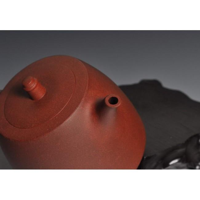 Yixing Teapot Di Cao Qing Clay Han Duo 320ml